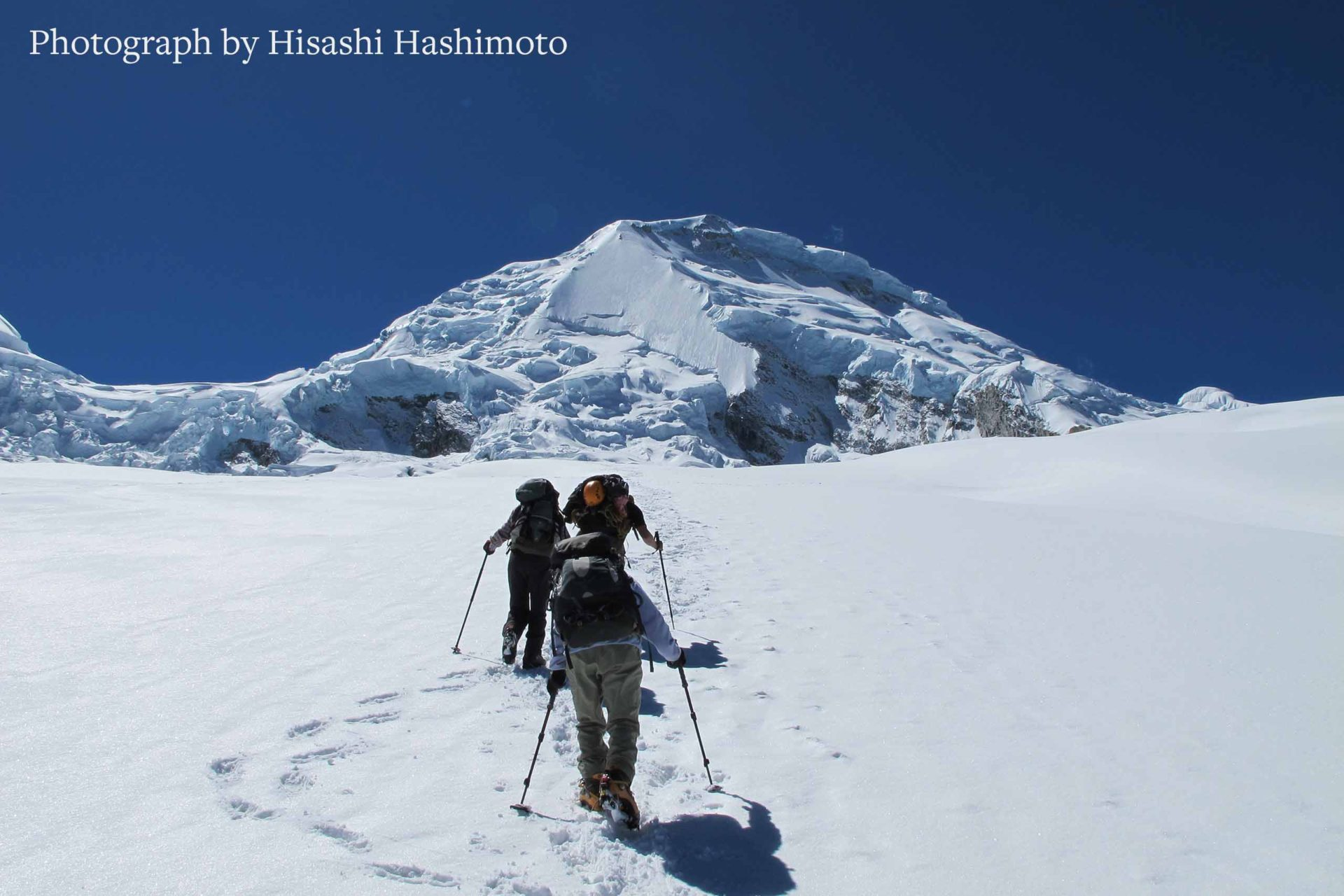 Akira Inoue - nandi peru ワラス 高所登山 ワスカラン ペルー